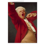 Self-Portrait, Yawning - Joseph Ducreux