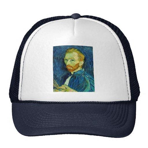 Self Portriat Vincent Van Gogh 1889 Hat