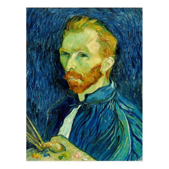 Self Portriat Vincent Van Gogh 1889 Postcard