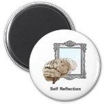 Self Reflection Fridge Magnet
