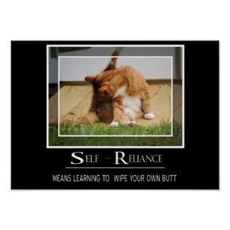 Self-Reliance Poster