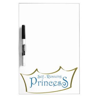 Self-Resuing Princess Dry-Erase Boards