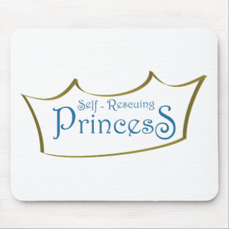 Self-Resuing Princess Mousepad