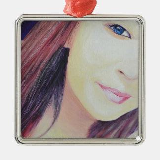 Selfie 2 christmas ornament