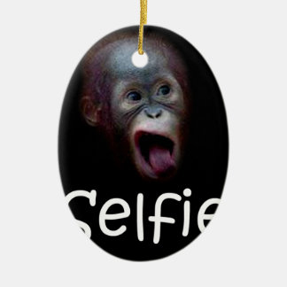 Selfie Christmas Ornament