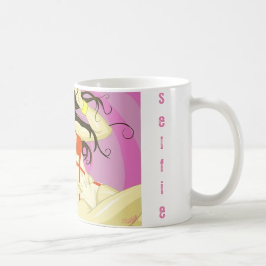 SELFIE GIRL COFFEE MUG