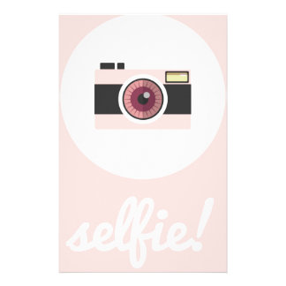 Selfie sign! stationery