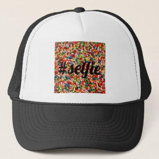 #selfie sprinkles trucker hat