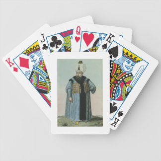 Selim II (1524-74) called 'Sari', the Blonde or th Bicycle Playing Cards