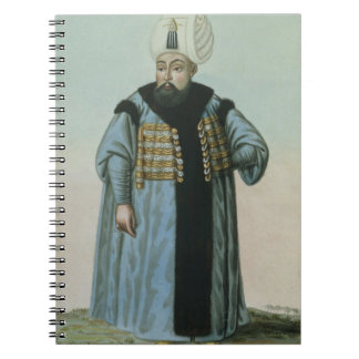 Selim II (1524-74) called 'Sari', the Blonde or th Spiral Notebook
