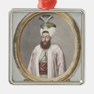Selim III (1761-1808) Sultan 1789-1807, from 'A Se Christmas Ornament