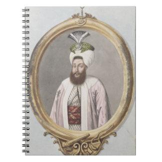 Selim III (1761-1808) Sultan 1789-1807, from 'A Se Notebook