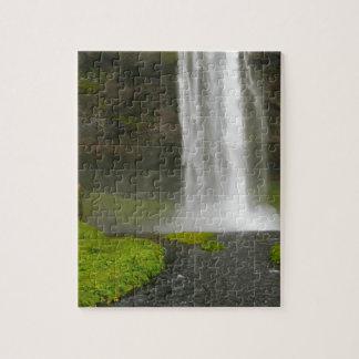 Seljalandsfoss Waterfall Iceland Puzzle