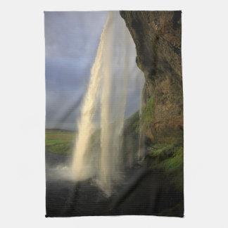 Seljalandsfoss waterfall, Iceland Towels
