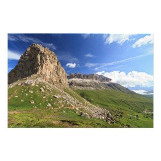 Sella mountain and Pordoi pass Stationery