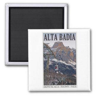 Sella Ronda - Alta Badia Gondola Magnet