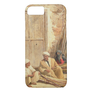 Sellers of Sugar Cane, Egypt, 1892 (oil on canvas) iPhone 8/7 Case