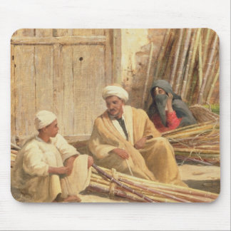 Sellers of Sugar Cane, Egypt, 1892 (oil on canvas) Mouse Mat