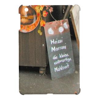 Selling Hot Chestnuts in Luzern iPad Mini Cases
