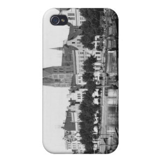 Selling wood on the River Trave, Lubeck, c.1910 iPhone 4/4S Cases
