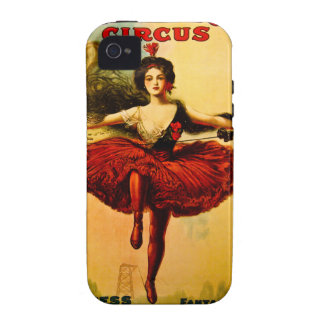 Sells Floto Wire Dancer Circus Princess Victoria Case-Mate iPhone 4 Covers