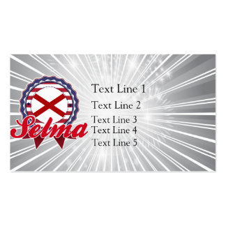 Selma, AL Double-Sided Standard Business Cards (Pack Of 100)