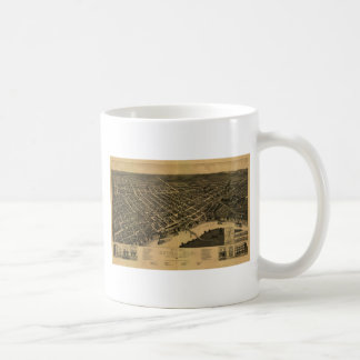 Selma Alabama in 1887 Basic White Mug