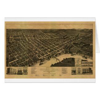 Selma Alabama in 1887 Greeting Card