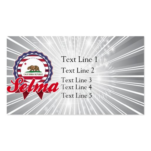 Selma, CA Business Card