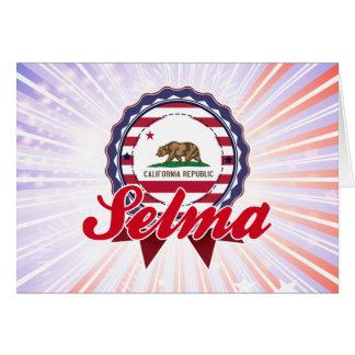Selma CA Greeting Card
