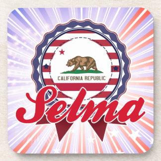 Selma CA Drink Coasters