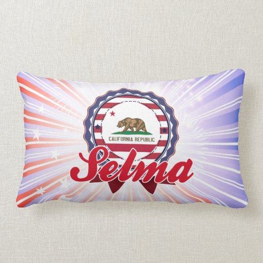 Selma, CA Throw Pillows