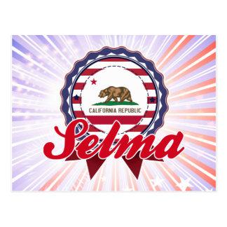 Selma, CA Postcard