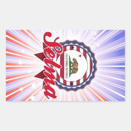 Selma, CA Sticker