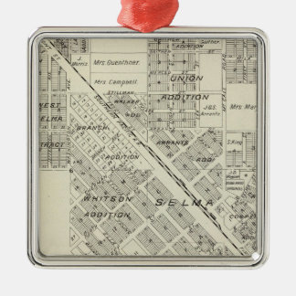 Selma, California Christmas Ornament