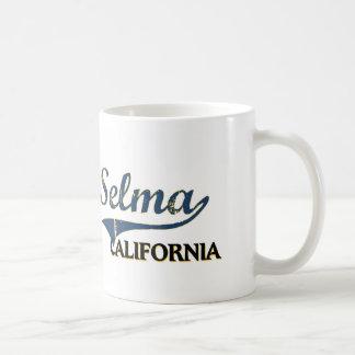 Selma California City Classic Basic White Mug