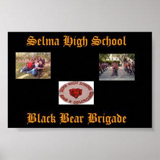 Selma High School Poster