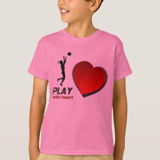 "SELMA YELLOWJACKETS ""PLAY WITH HEART"" BBALL SHIRT"