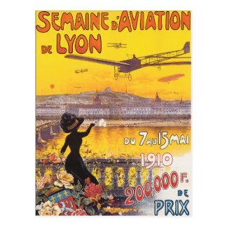 Semaine d Aviation de Lyon Post Cards