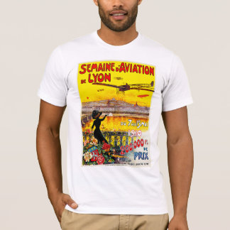 Semaine d'Aviation de Lyon T-Shirt