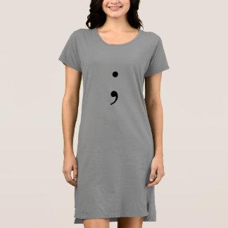 semi colon artistic dress