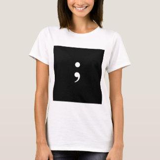 Semi Colon T-Shirt
