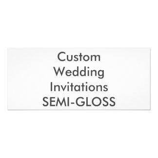 """SEMI-GLOSS 9.25"""" x 4"""" Wedding Invitations"""