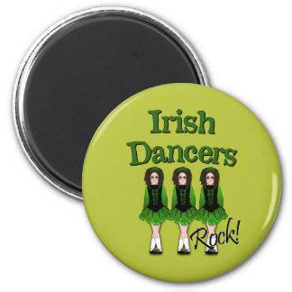 Semi-Goth Irish Dancers Fridge Magnet