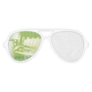 semi green sun glass aviator sunglasses
