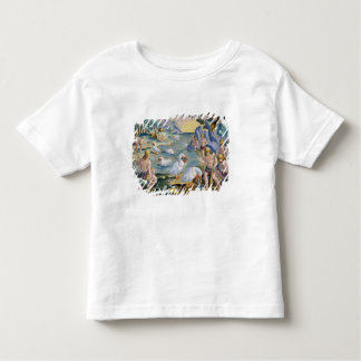 Semi-Naked Savages of India Using Pelicans to Catc Toddler T-Shirt