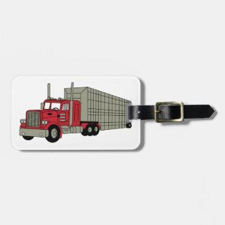 Semi Truck Luggage Tag