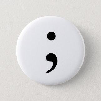 Semicolon badge