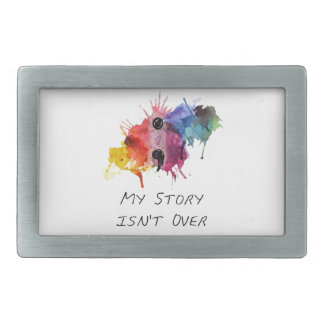 Semicolon- My Story isnt Over Belt Buckles