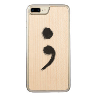 SemiColon Phone Carved iPhone 8 Plus/7 Plus Case